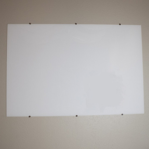 Wall Mounted Glass Whiteboard - NEW