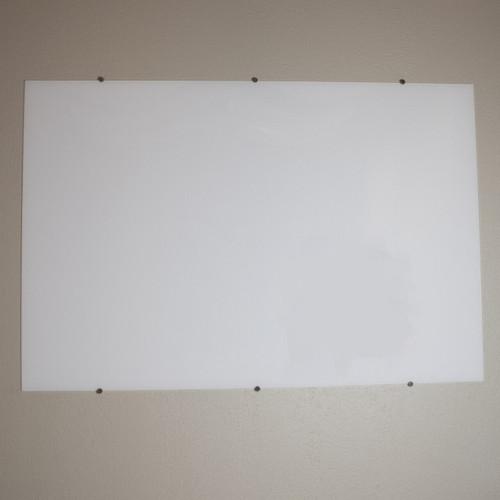 Wall Mounted Glass Whiteboard - NEW
