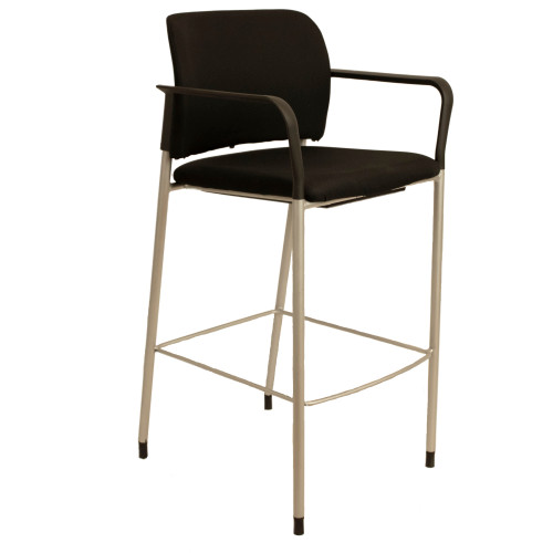 HON Accommodate Cafe Stool w/ Fixed Arms