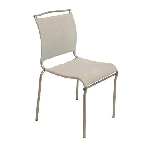 Calligaris Web Stack Side Chair - Grey - Preowned