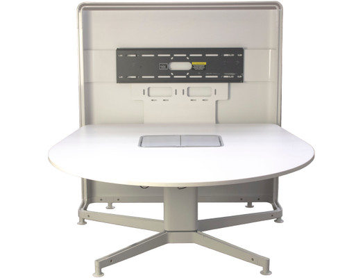 Steelcase Media:scape Multimedia Collaboration Table 54x54- Preowned