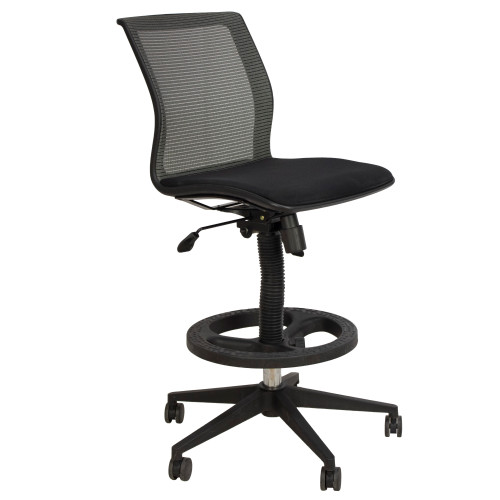 Teal Mesh 2 Function Stool - Preowned