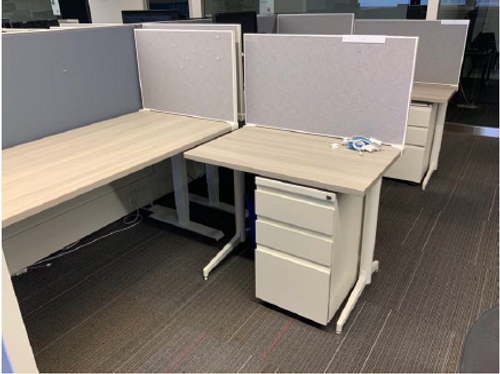 6' x 6' Haworth Compose Stations - FOB Chicago, IL - Preowned (Minimum Order 20)