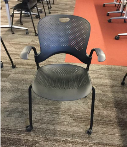 Herman Miller Caper Stack Chair - FOB Chicago, IL - Preowned (Minimum Order 10)