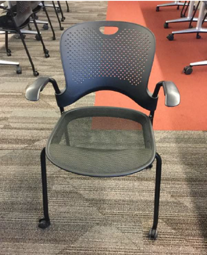 Herman Miller Caper Stack Chair Mesh Seat - FOB Chicago, IL - Preowned (Minimum Order 10)