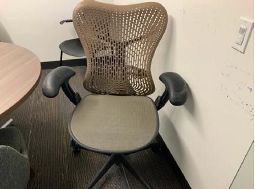 Herman Miller Mirra Tan Task Chair - FOB Chicago, IL - Preowned (Minimum Order 10)