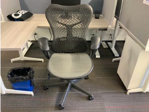 Herman Miller Mirra Grey Task Chair - FOB Chicago, IL - Preowned (Minimum Order 10)