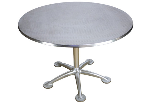 """Jorge Pensi Knoll Round Dining Table 42"""" - Preowned"""