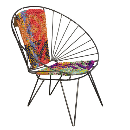 Chindi Wire Chair - Preowned