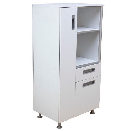 """Steelcase C-SCAPE Storage Tower 17""""D x 24""""W x 48""""H  LEFT - Preowned"""
