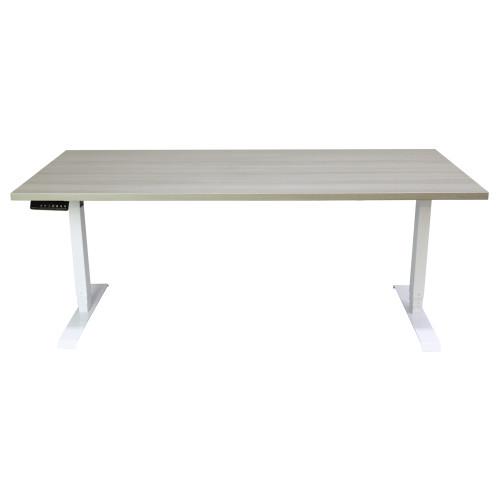 Haworth Height Adjustable Desk - Grey - Preowned