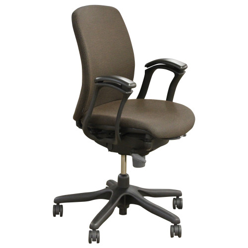 Teknion Amicus Task Chair - Brown -  Preowned