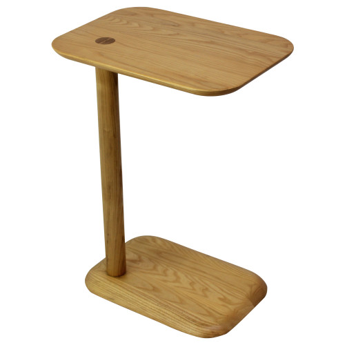 Poppin Natural Ash Spot Side Table - Preowned