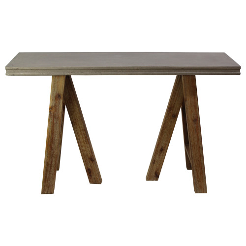Modern Industrial Console Table - Preowned