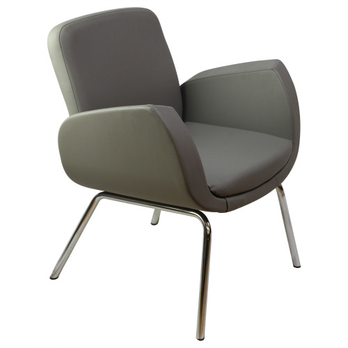Kate Medium Back Armchair by Global - Preowned
