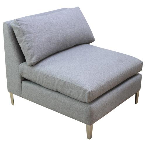 CB2 Decker Armless Lounge Chair - Preowned