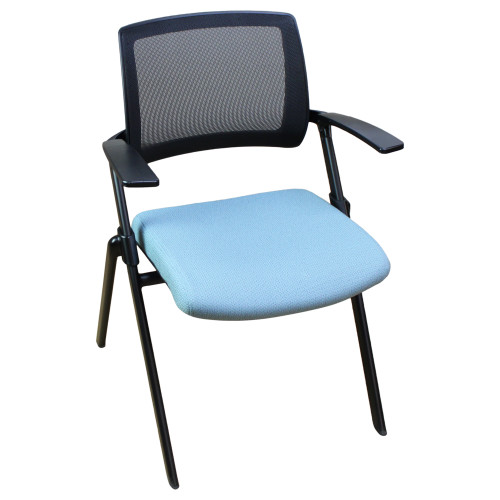 Kimball Flip Nesting Chair - Blue - Preowned
