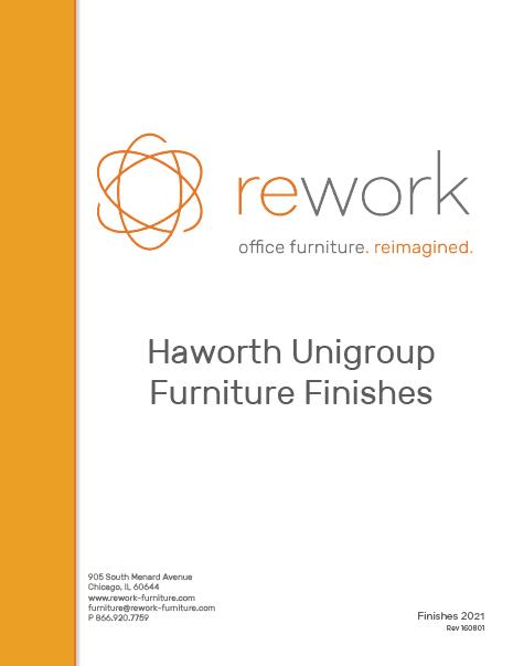 Haworth Unigroup Finishes
