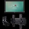 "ViewSonic IFP7550-E1 75"" 4K Interactive Display (Bundle)"