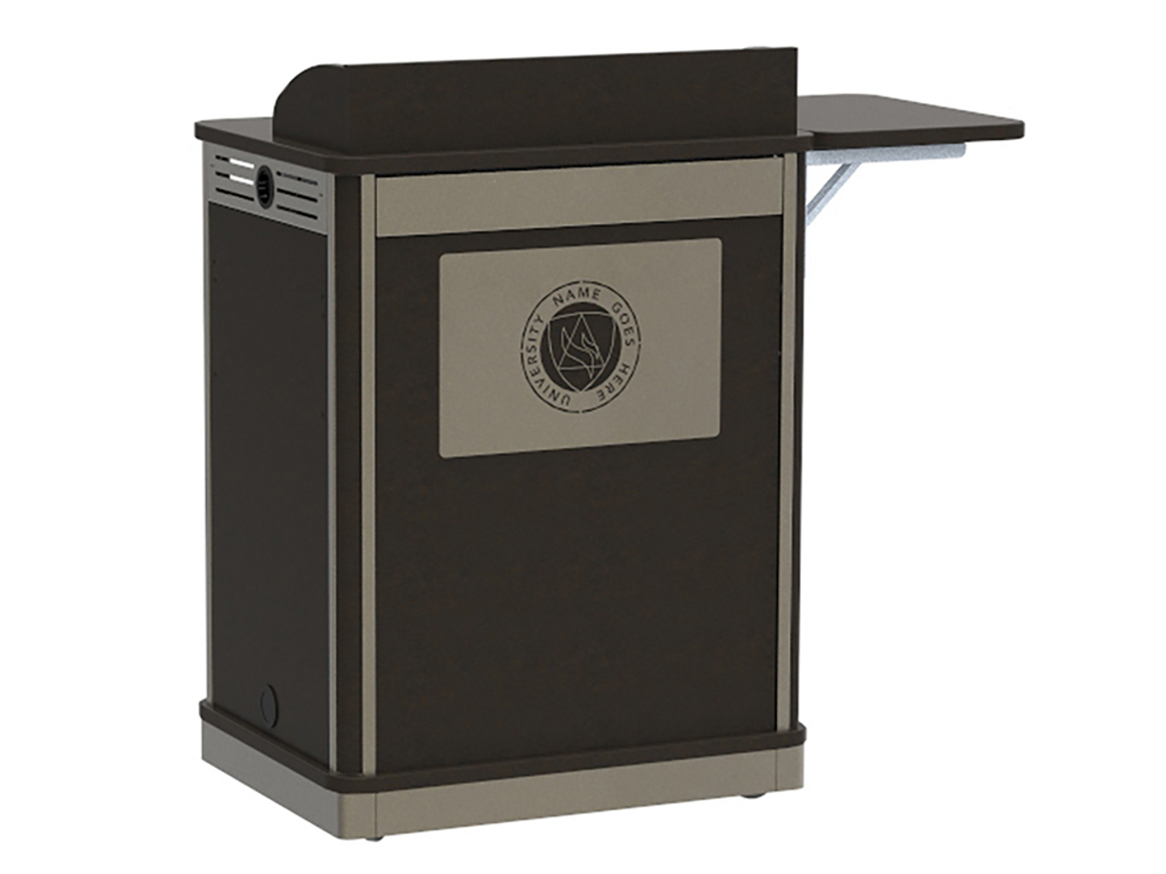 Spectrum Compact Lectern - Media Manager Series (55212)