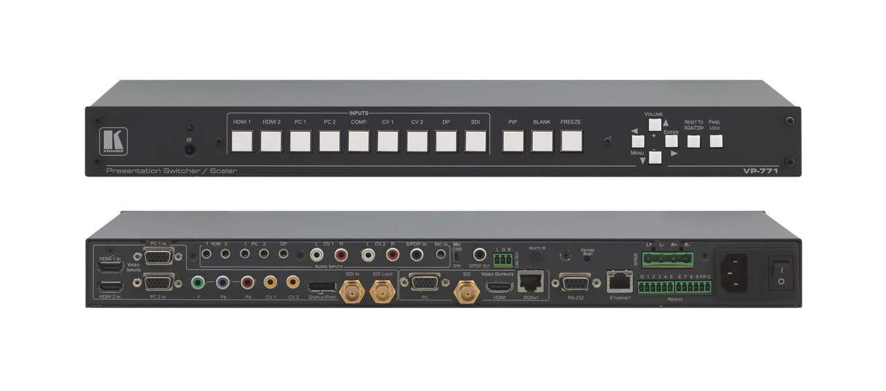 Kramer VP-771 Presentation switcher scaler (VP-771)