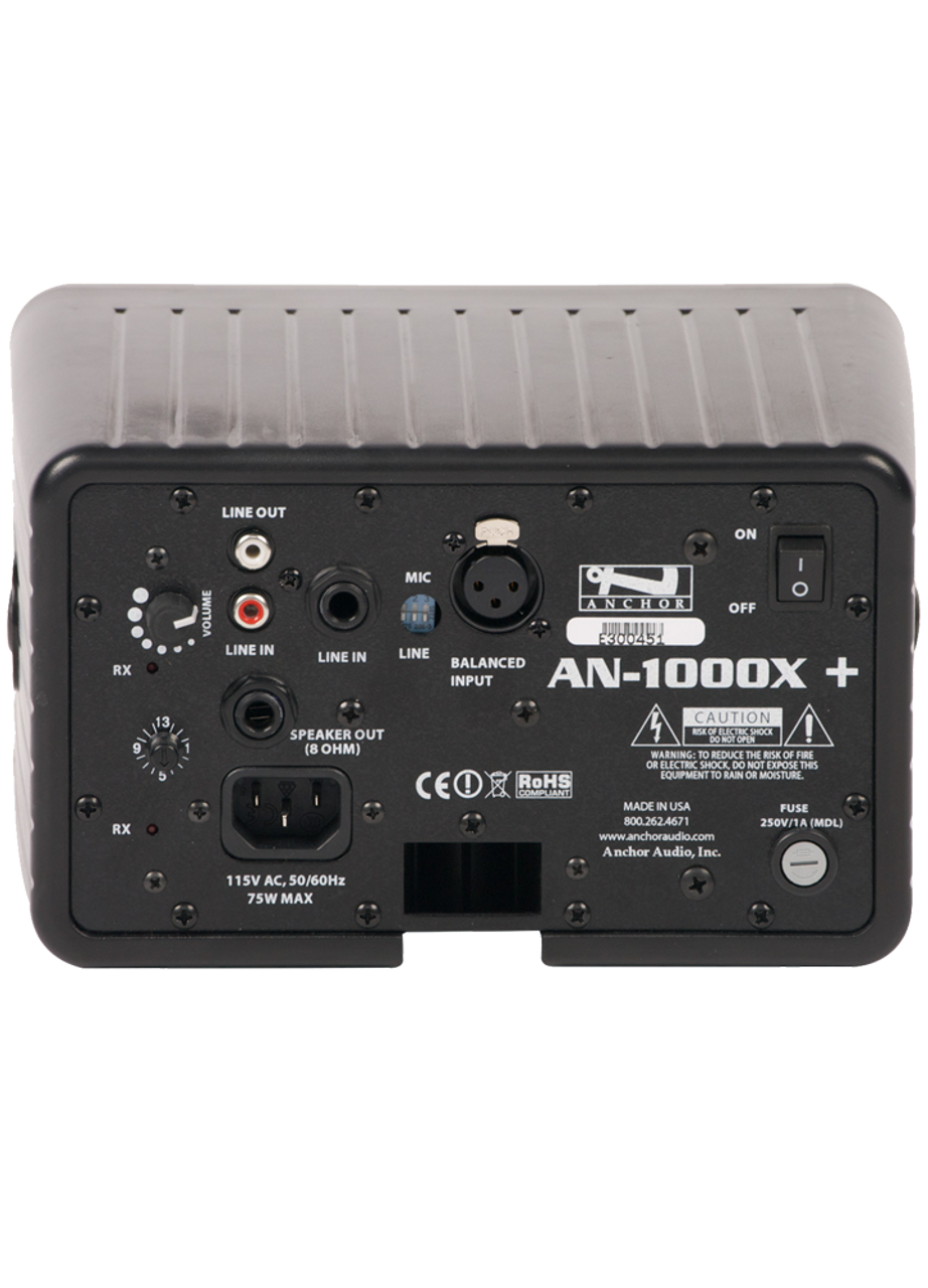 Anchor Audio AN-1000X+ Speaker Monitor (AN-1000X+)