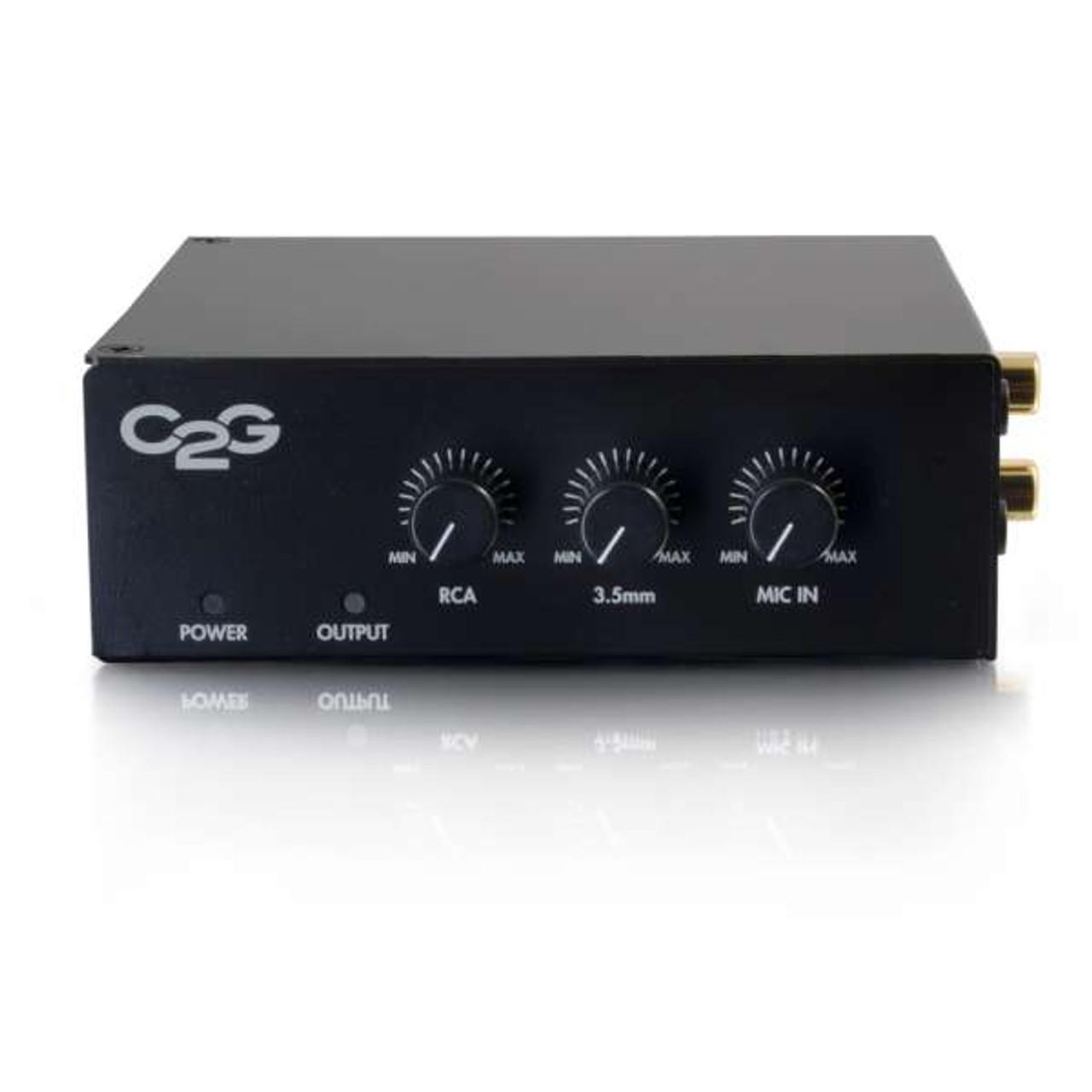 C2G 25/70V 50W AUDIO AMPLIFIER PLENUM RATED (40881)