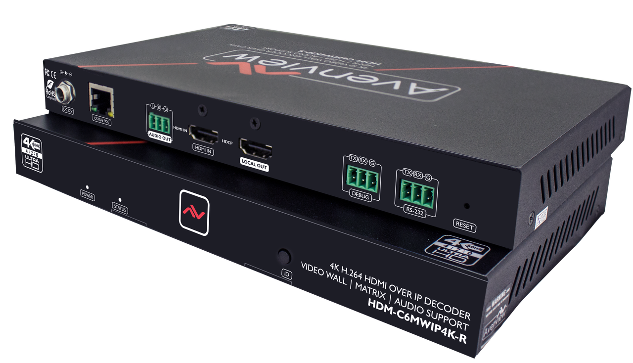 Avenview M-Series 4K - HDMI over IP (HDM-C6MWIP4K-SET)