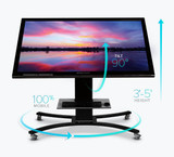 Clear Touch Convertible Mobile Stand (CTI-STAND-CONM)