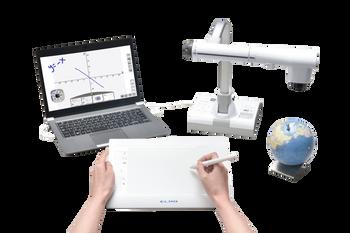 Elmo TT-12W + CRA-2 Wireless Tablet bundle
