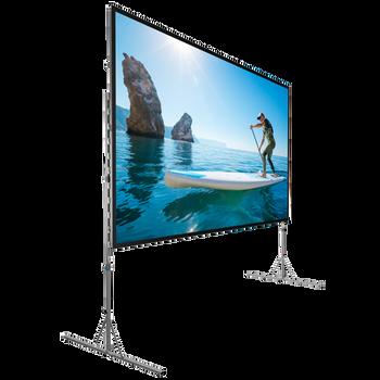 """DA-LITE 38304 107"""" Fast-Fold Deluxe Screen System"""