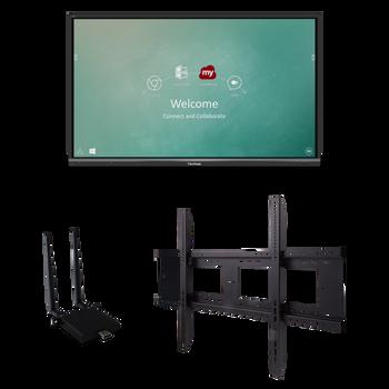 "ViewSonic IFP6550-E1 65"" 4K Interactive Display (Bundle)"