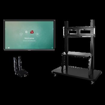 "ViewSonic IFP6550-E2 65"" 4K Interactive Display (Bundle)"