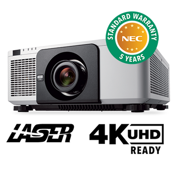 NEC NP-PX1004UL-WH 10000 Lumen LCD, Laser Projector
