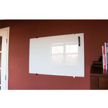 """Luxor WGB9648M 96"""" x 48"""" Wall-Mounted Glass Board"""