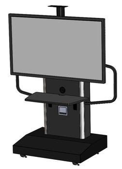 Audio Visual Furniture International TP 1200-S Series Mobile Teleprtesence Stand