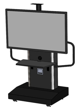 Audio Visual Furniture International TP 1200-S Series Mobile Teleprtesence Stand