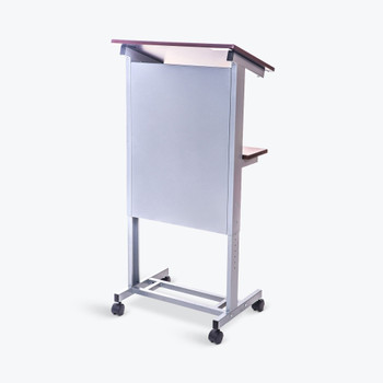 Luxor LX-ADJ-DW Rolling Adjustable-Height Podium
