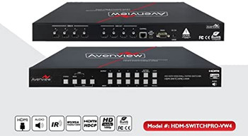 Avenview HDM-SWITCHPRO-VW4 Video Wall Switcher