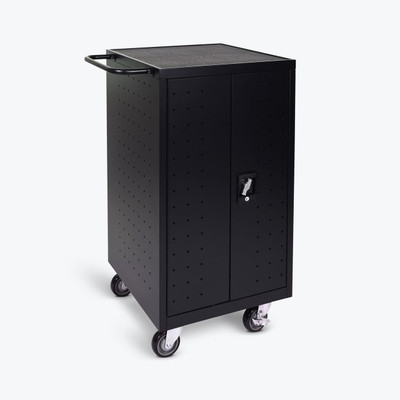 Luxor 18-Laptop / Chromebook Charging Cart (LLTP18-B)