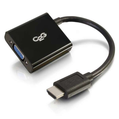 HDMI MALE TO VGA FEMALE ADAPTER CONVERTER DONGLE (41350)
