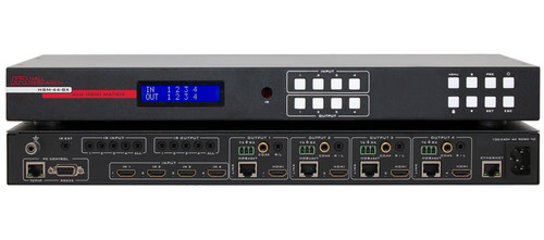 Hall Research 4K 4X4 HDMI Matrix Switch (HSM-44-BX)