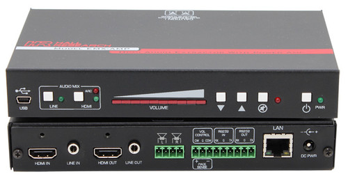Hall Research 4K HDMI Audio Extractor with Audio Amplifier (EMX-I-AMP)