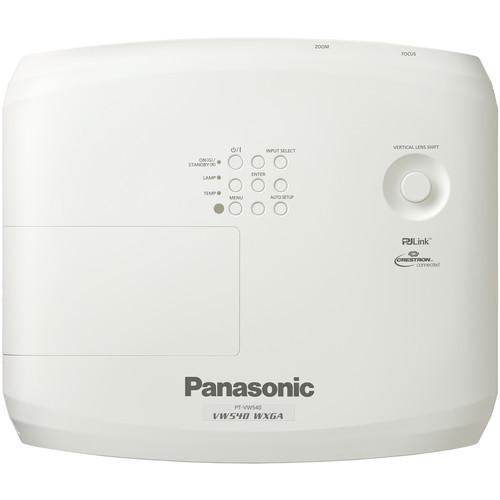 Panasonic PT-VZ585NU WUXGA LCD Projector (PT-VZ585NU)