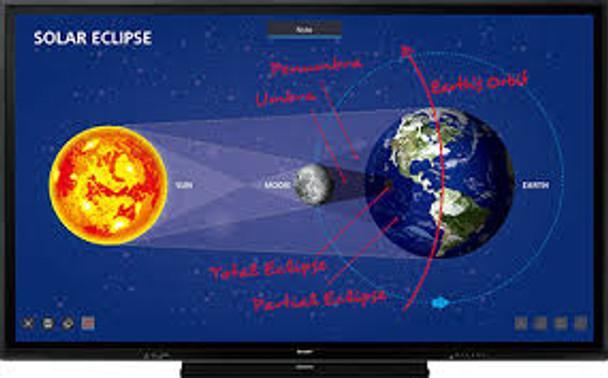 Sharp PN-CE701H 4K Interactive Display
