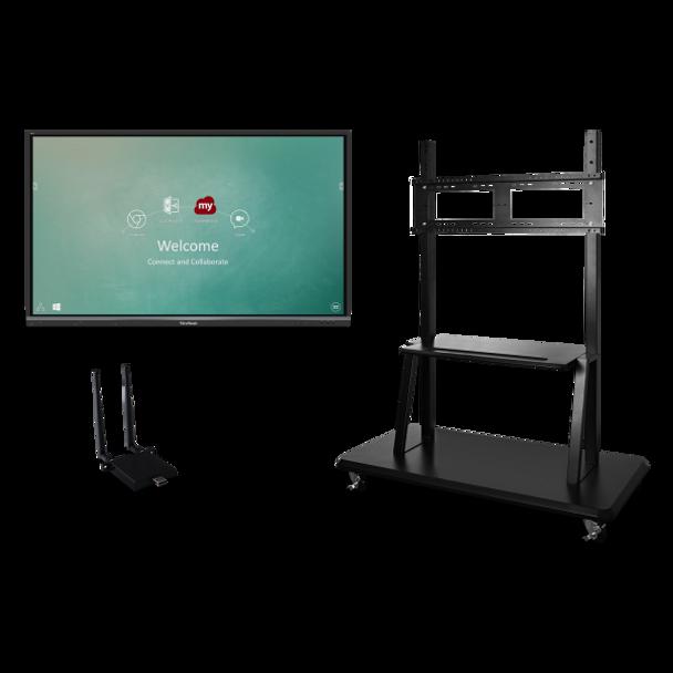"ViewSonic IFP7550-E2 75"" 4K Interactive Display (Bundle)"