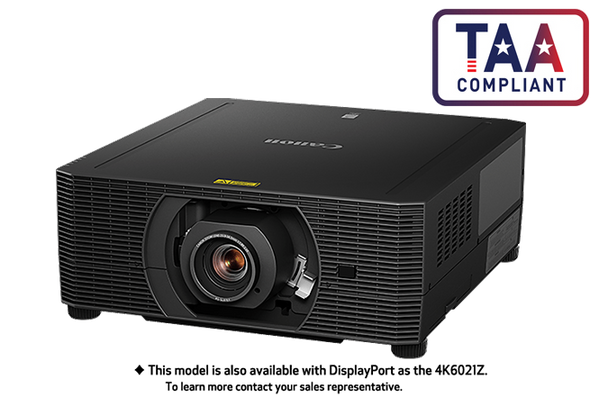 Canon 4K6020Z 4K projector (2504C002AA)