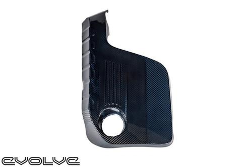 EVENTURI BLUE KEVLAR ENGINE COVER - BMW F80 M3 | F82 | F83 M4 COUPE | CONVERTIBLE