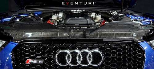 Eventuri Black Carbon Facelift Slam Panel Cover - Audi B8 RS5
