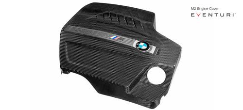 Eventuri Black Carbon Engine Cover - BMW F87 M2